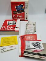PC Tools For Windows Version 2 Software Complete w/ Book, Floppy Disks + More
