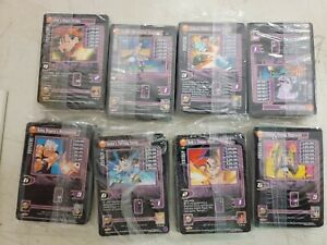 Lot of 8 Dragon Ball Z GT Trading Card Game promo demo 55 card