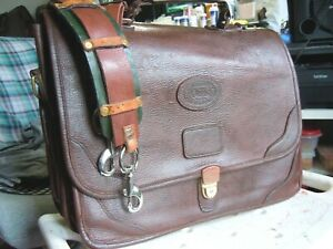 Vintage Orvis Leather Orvis/Gokey Briefcase Made in USA    21