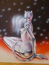Original Cover Picture Book or romanheft Robot Cyborg? Science Fiction