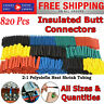 Heat Shrink Tubing 820 Pc Electric Insulation Tube Heat Shrink Wrap Cable Sleeve