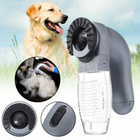 Cat Dog Pet Hair Fur Remover Shed Grooming Brush Comb Vacuum Cleaner Trimmer