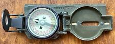 Miller Lensatic Magnetic Compass from the Vietnam era year 1971 1: 50000 scale