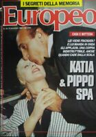 EUROPEO N.20 1989 PIPPO BAUDO KATIA RICCIARELLI