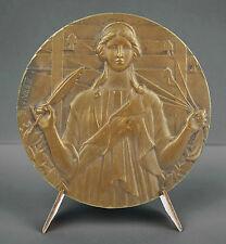 Médaille sc F Fraisse journal le Matin vers 1930 medal