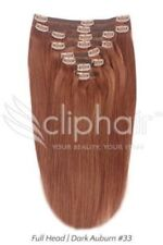 Pelucas y postizos cabello natural castaño