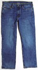 Levi's 514 Straight Fit Denim Jeans Mens Size 35 x 30