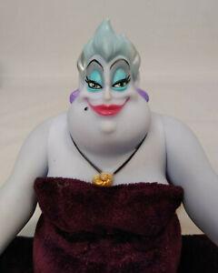 "Disney Little Mermaid Ursula Sea Witch Doll Figure Vinyl & Plush Villian 12"""