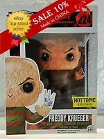 Funko Pop!A Nightmare on Elm Street Freddy Krueger#224 Exclusive MINT。+Protector
