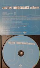 JUSTIN TIMBERLAKE  Senorita CD 2003 PROMO radio edit SHORT INTRO 3 tracks JIVE