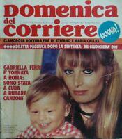 DOMENICA DEL CORRIERE N.16 1974 GABRIELLA FERRI