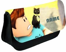 ROBLOX DENISE & CAT #2 PERSONALISED PENCIL CASE