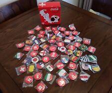 Coca Cola Brazilian World Cup Fridge Magnets new and boxed