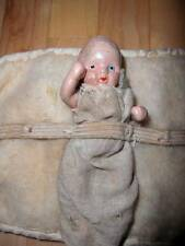 "Marked ""Made in Japan"" ~ Vintage Bisque Baby Doll 3 1/2"""