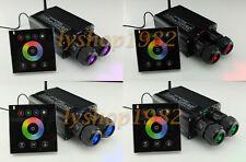 32W fiber optic light engine led light source dual output touchpad control RGBW