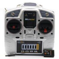 MicroZone MC6C 2.4G 6CH Controller Transmitter Receiver Radio System for RC N1Y