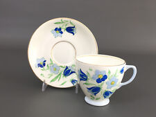 vintage OLD ROYAL bone china cup & saucer, England 1930's
