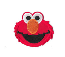 ELMO Iron on / Sew on Patch Embroidered Badge Sesame Street TV PT25