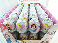 10 Eggs - Disney PRINCESS Girls Chocolate Surprise Easter Eggs with Toy Inside