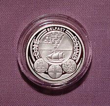 2010 plata prueba Piedfort ciudad de Belfast £ 1 Moneda-problema de baja