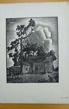 J.J. Lankes Woodcut