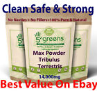 Tribulus Terrestris Capsules 14000mg 95% Saponins 100% Clean Strong & Effective