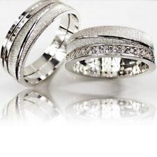 2 Trauringe 925 Silber GRAVUR Eheringe Verlobungsringe Partnerringe 3311-S
