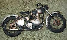 "VINTAGE LOOK  HARLEY DAVIDSON  INDIAN MOTORCYCLE 3D METAL WALL HANGING DECOR 25"""