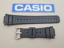 Genuine Casio G-Shock GWM5600 GWM6510 WW5100C black resin watch band strap