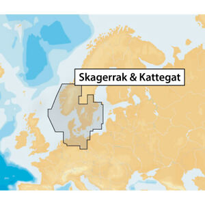 Navionics+ 45XG Skagerrak and Kattegat