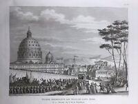 Rome en 1798 Armée d'Italie Bonaparte Ancône Forli Victor Berthier Forli  Pape
