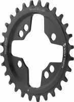 Wolf Tooth 64 BCD Chainring - 28t 64 BCD Universal Mount Drop-Stop Black