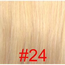 Extensions de Cheveux Humains à Clip - 38cm, 70 gr - Brun
