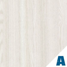 Pellicola Adesiva Rovere Bianco Opaco  larg. 122 cm AL METRO LINEARE effetto leg