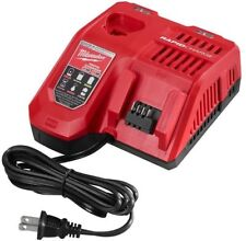 New Milwaukee M12/M18 12V & 18V Lithium Ion Rapid Battery Charger # 48-59-1808