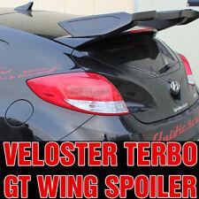 Rear Trunk Lip Spoiler Lid Trim Unpainted for HYUNDAI 2011 - 2017 Veloster Turbo