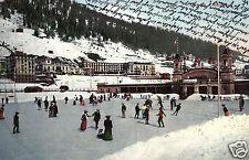 17967/ Foto AK, Schlittschuhläufer Eisstadion Davos, 1906