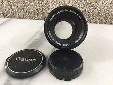 Canon Lens FD 50mm 1:1.4 S.S.C