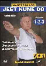 MASTERCLASS JEET KUNE DO with CHRIS KENT -3 DVD SET