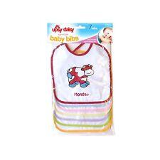 Babero de Bebé limpie Unicornio alimentación regate Niño Niña Plástico la hora de comer para niños pequeños 6m