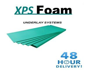 XPS Underlay Insulation 5mm  - Wood or Laminate Flooring - Like Fibreboard