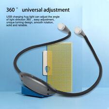 Flexible Led Neck Light Usb Charging Handsfree 3 Mode Reading Knitting Lamp
