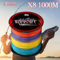 8 Strands Super Power Japanese PE Braid Fishing Line 1000M Braided Fishing Lines