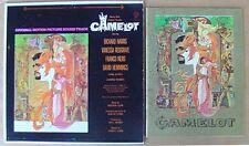 CAMELOT - RICHARD HARRIS- WB LP + FILM SOUVENIR BOOKLET