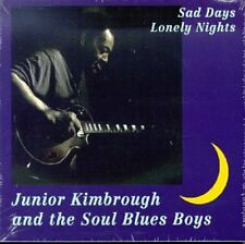 Sad Days & Lonely Nights - Junior & Soul Blues Kimbrough (1998, CD NUEVO)