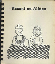 LOT OF 3 *ACCENT ON *ALBION IA 1974 VINTAGE COOK BOOKS *METHODIST CHURCH *IOWA