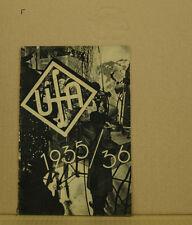 [K4-67] UFA FILM PUBBLICITÀ 1935/36 MOLTI GROSSE UFA-STELLE DELLA TEMPO