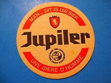 Vintage Beer Bar Coaster: JUPILER Une Biere D'Homme ~ Jupille-sur-Meuse, Belgium