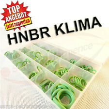 HNBR O-Ring Dichtring Set 270-tlg Speziell für KFZ Klimaanlagen Grüne Dichtringe