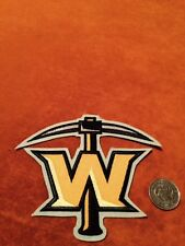Texas Wildcatters Stitched Shoulder ECHL Hockey Crest Patch Logo 5 by 4.2 inches